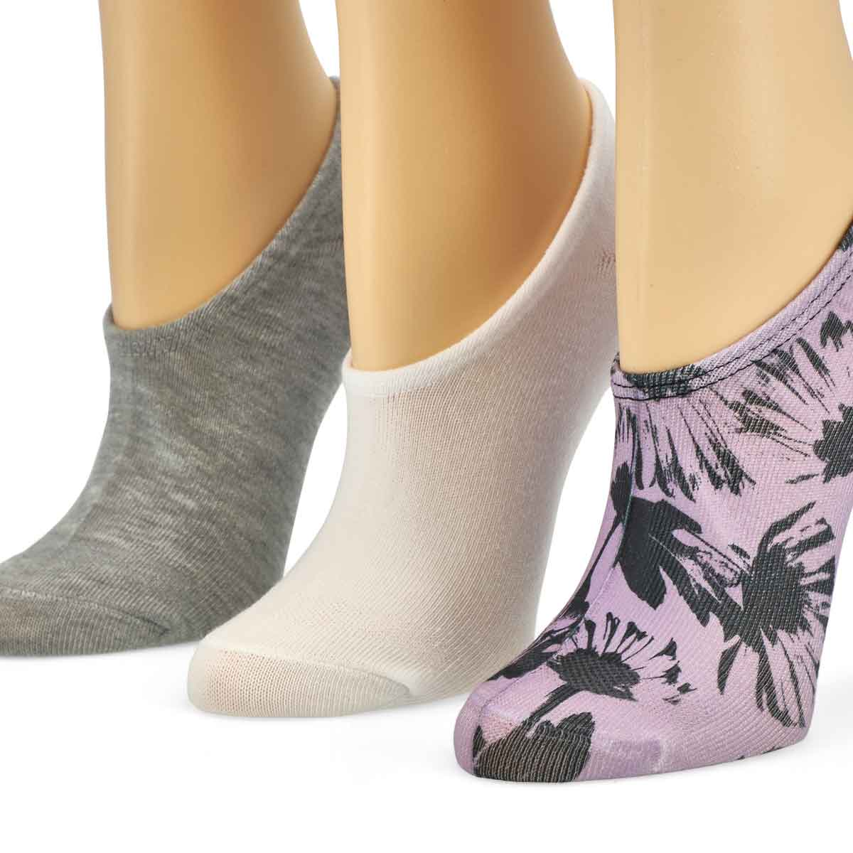 Women's MFC OX Tossed Flowers Liners - 3pk