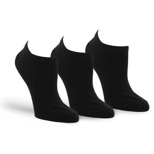 Chaussettes Converse, noir, fem -3 p