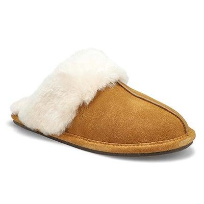 Women's RIHANA 2 chestnut open back slippers