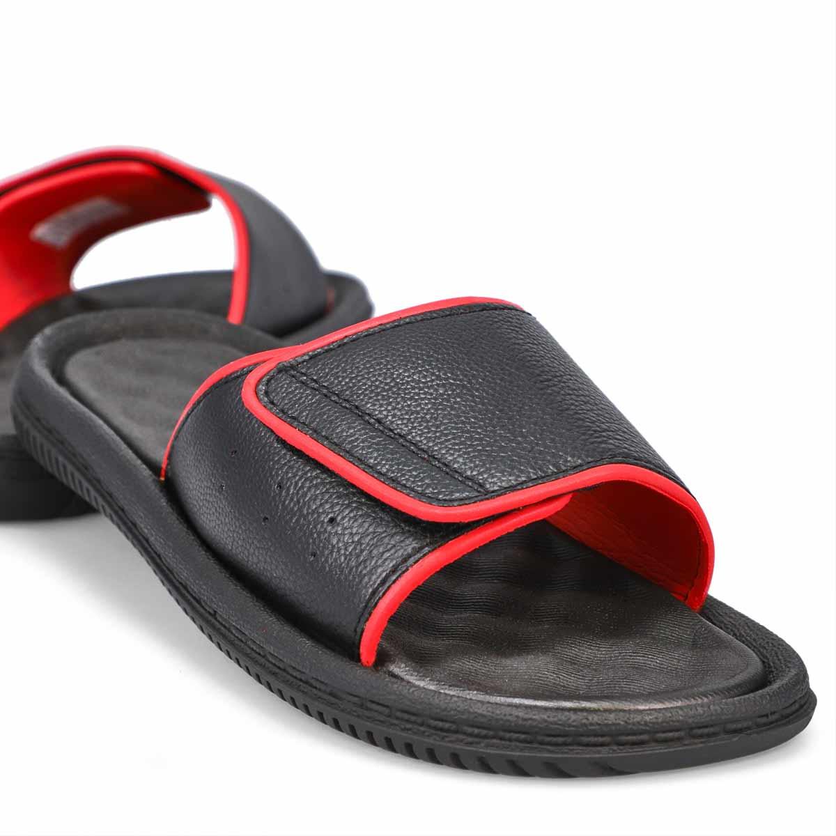 Men's Rory Slide Sandal - Black/Red
