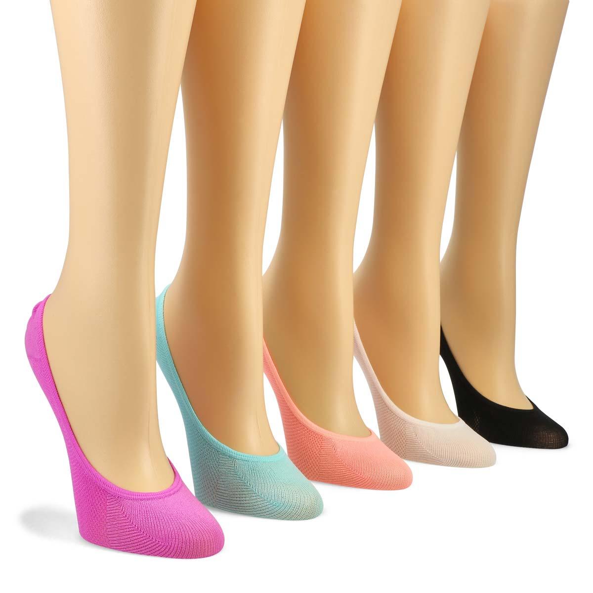 Socquettes SUPERLOW LINER, femme - 5 paires