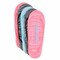 Socquettes basses NON TERRY, multicolores, fem, 5p