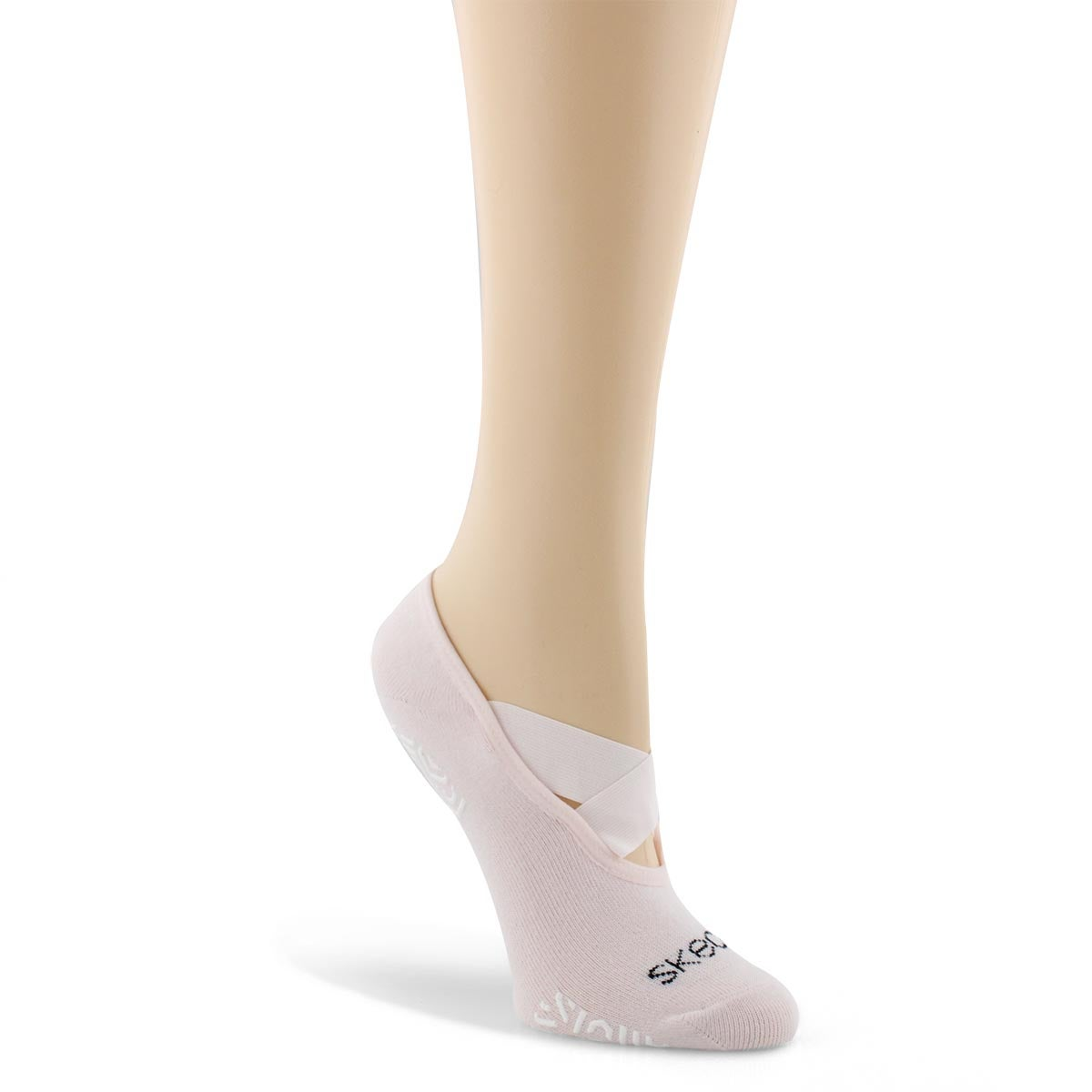 Women's NON TERRY STUDIO LINER mauve socks