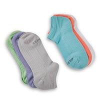 Socquettes NON-TERRY, multi, filles, 6p, femmes