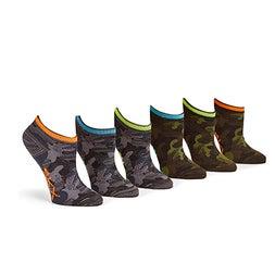 Bys Non Terry Low Cut multi socks 6pk