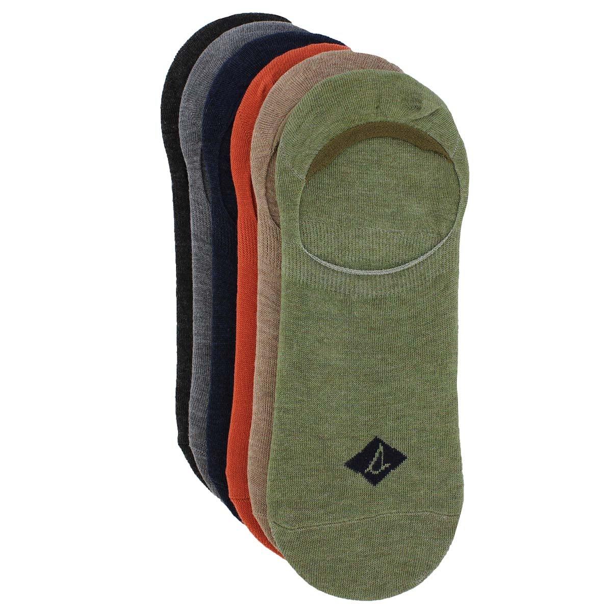 Socquettes hautes SOLID, multicolore, 6p, hommes
