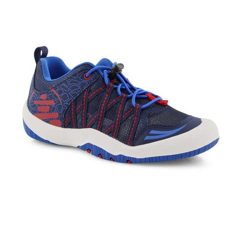 Bys Scout navy bungee sneaker