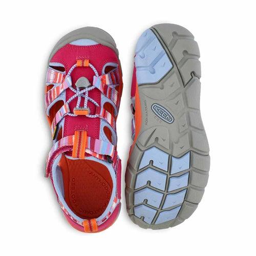 Grls Seacamp II bright rse sport sandal