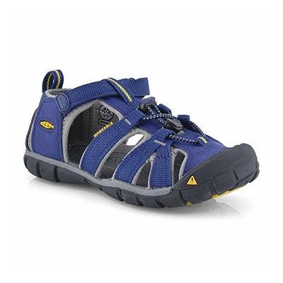 Boys' SEACAMP II blue depth/gargyle sandals
