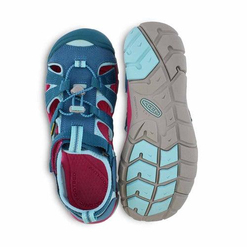 Grls Seacamp II deep lagoon sport sandal