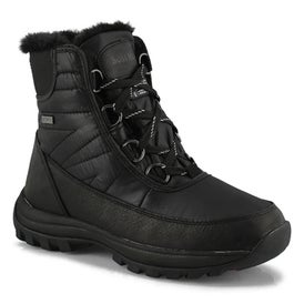 Lds Sheena black wtpf snow boot