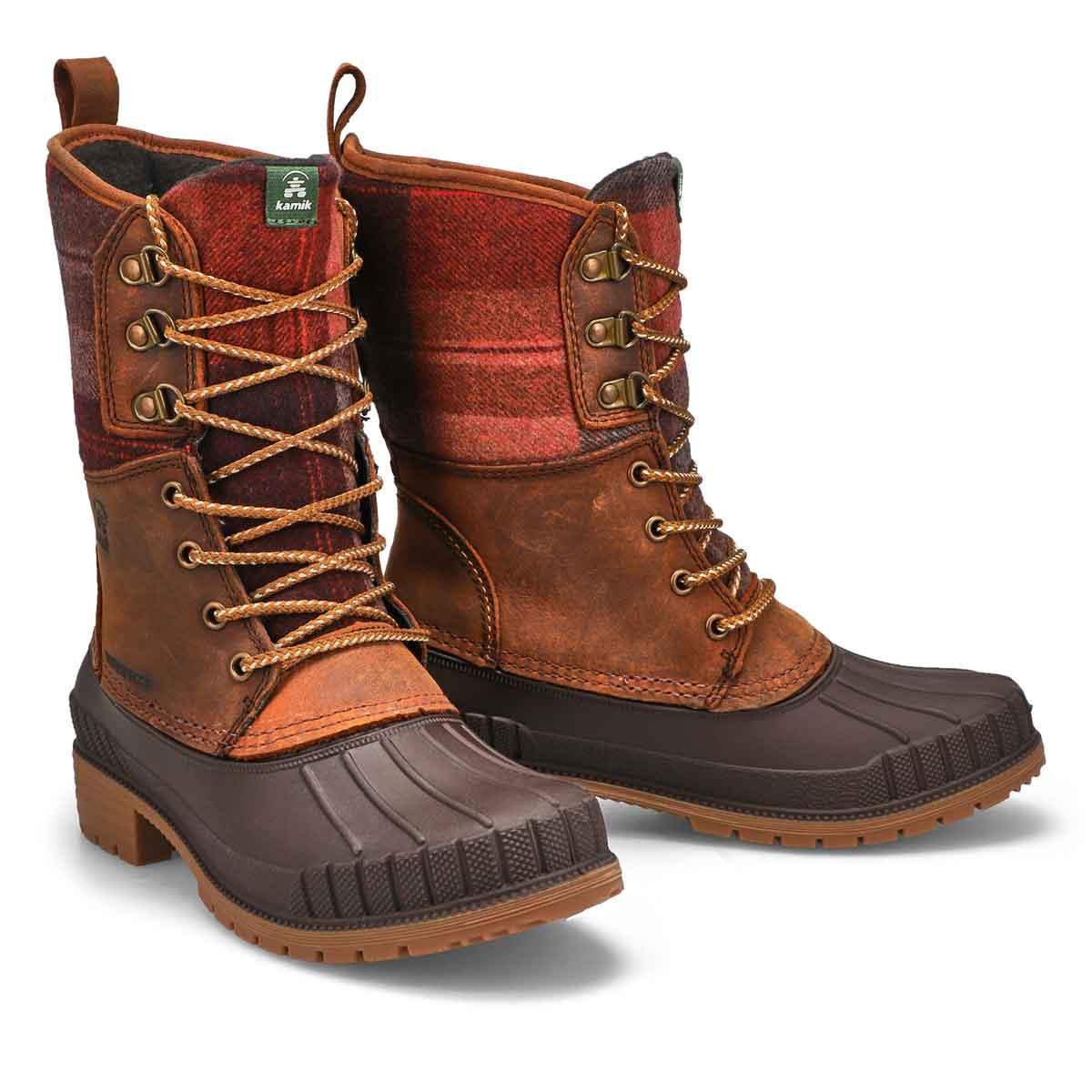 Women's Sienna 2  Waterproof Winter Boot - Dk Brn