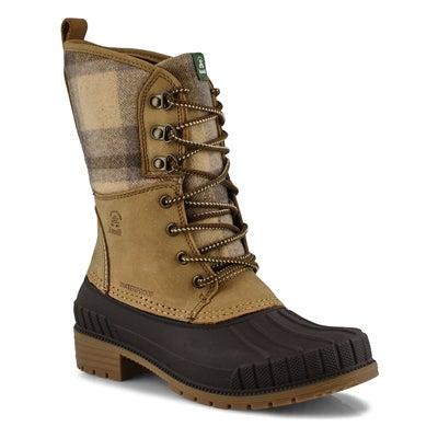 Lds Sienna2 tan waterproof winter boot