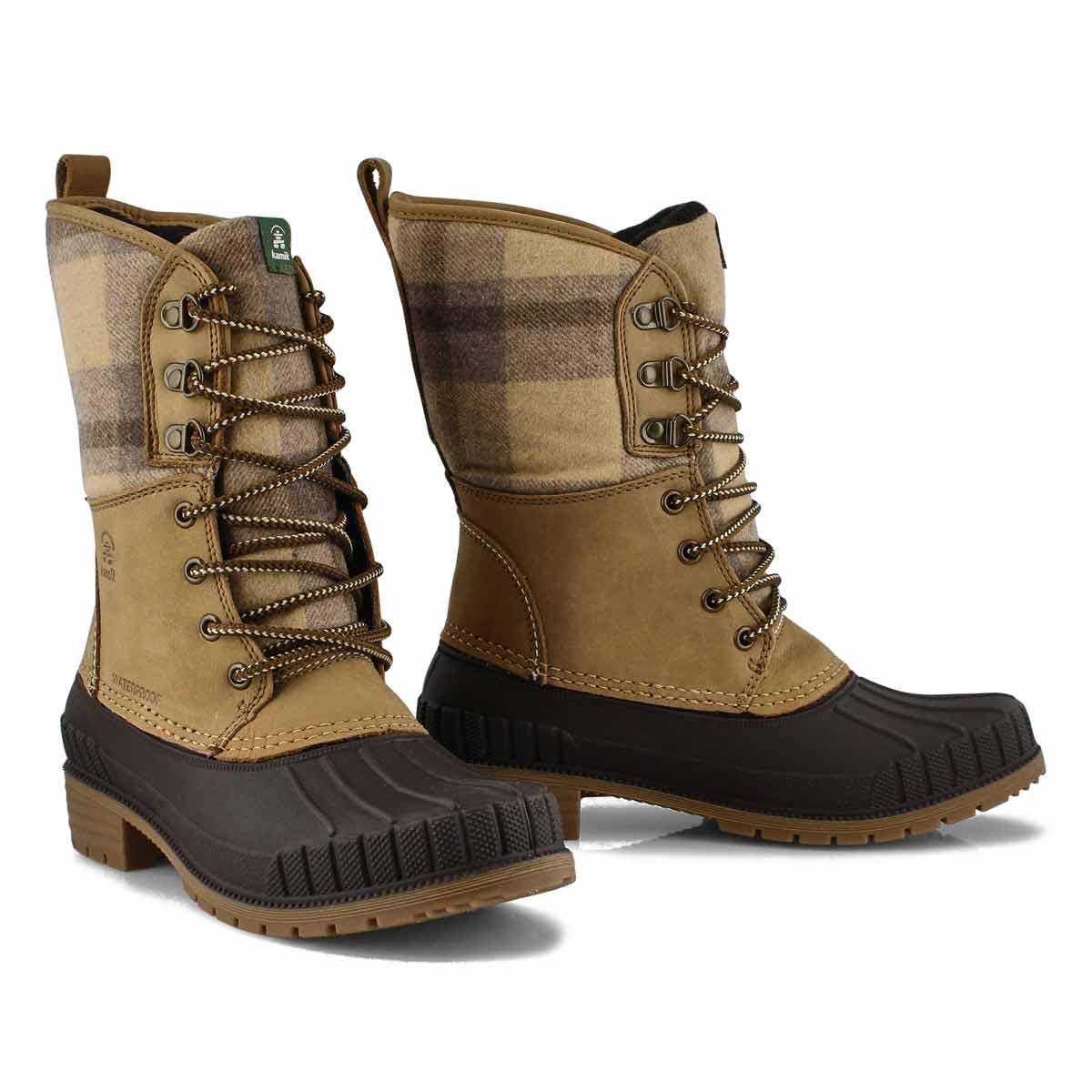 Women's Sienna 2 Waterproof Winter Boot -Tan
