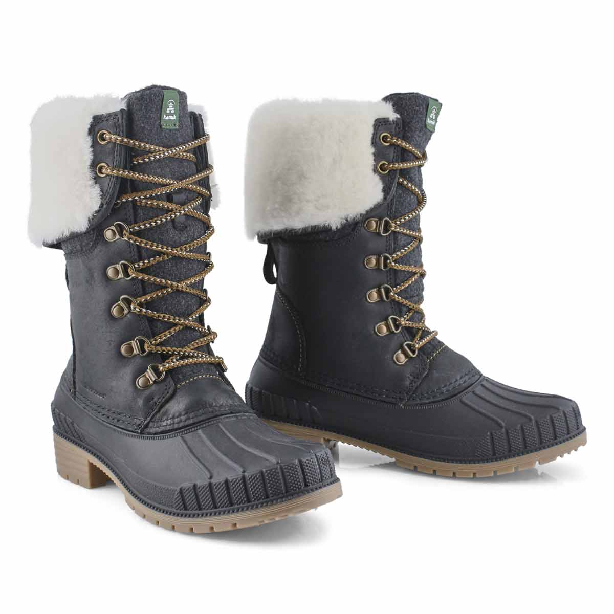 Women's SEINNAF2 black waterproof snow boot