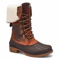 Women's SEINNAF2 dark brown waterproof boots