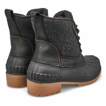 Women's SIENNA MID black waterproof winter boots