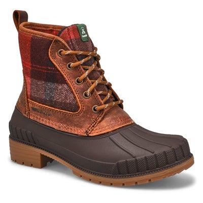 Women's SIENNA MID brown waterproof winter boots