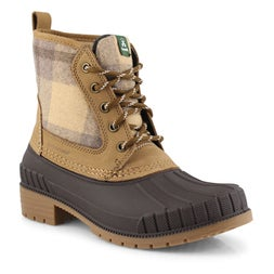 Lds Sienna Mid tan wtrpf winter boot