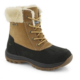 Lds Sophie wheat wtpf winter boot