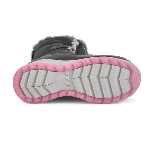 Grls Staci black winter boot