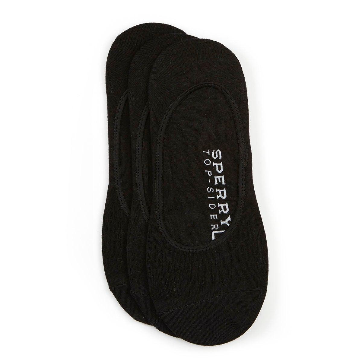 Men's SOLID black liner - 3 pack