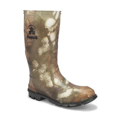Bys Stomp Camo waterproof rain boot