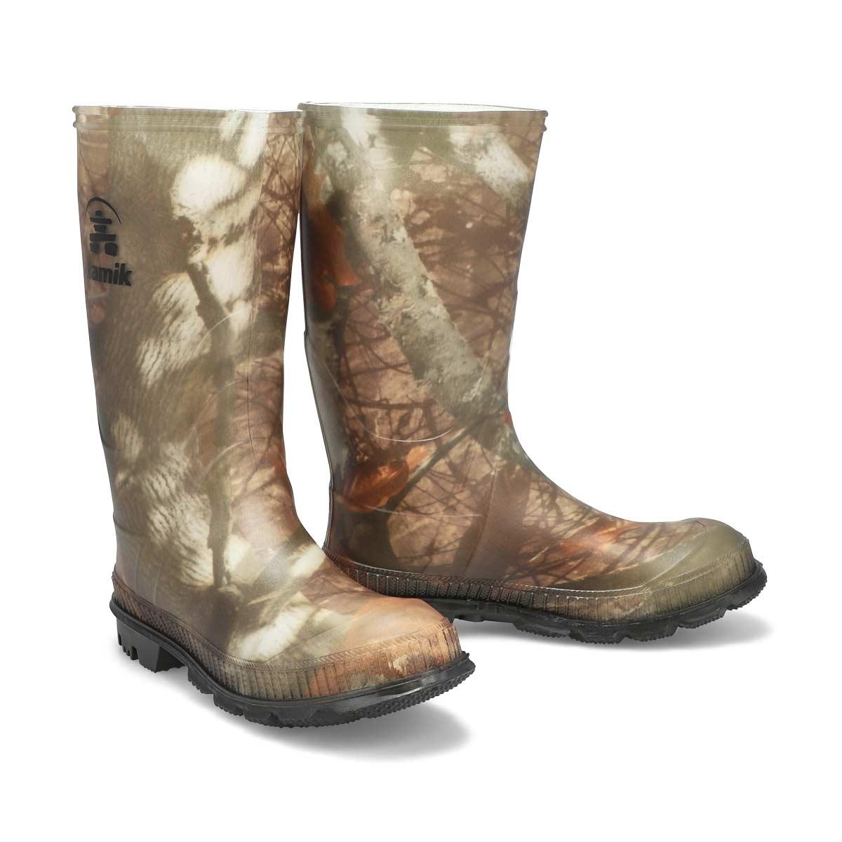 Boys' Stomp Waterproof Rain Boot - Camo