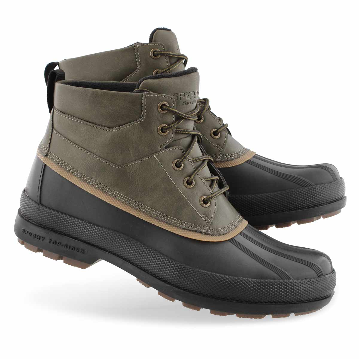 Sperry Men's COLD BAY CHUKKA olive/blk