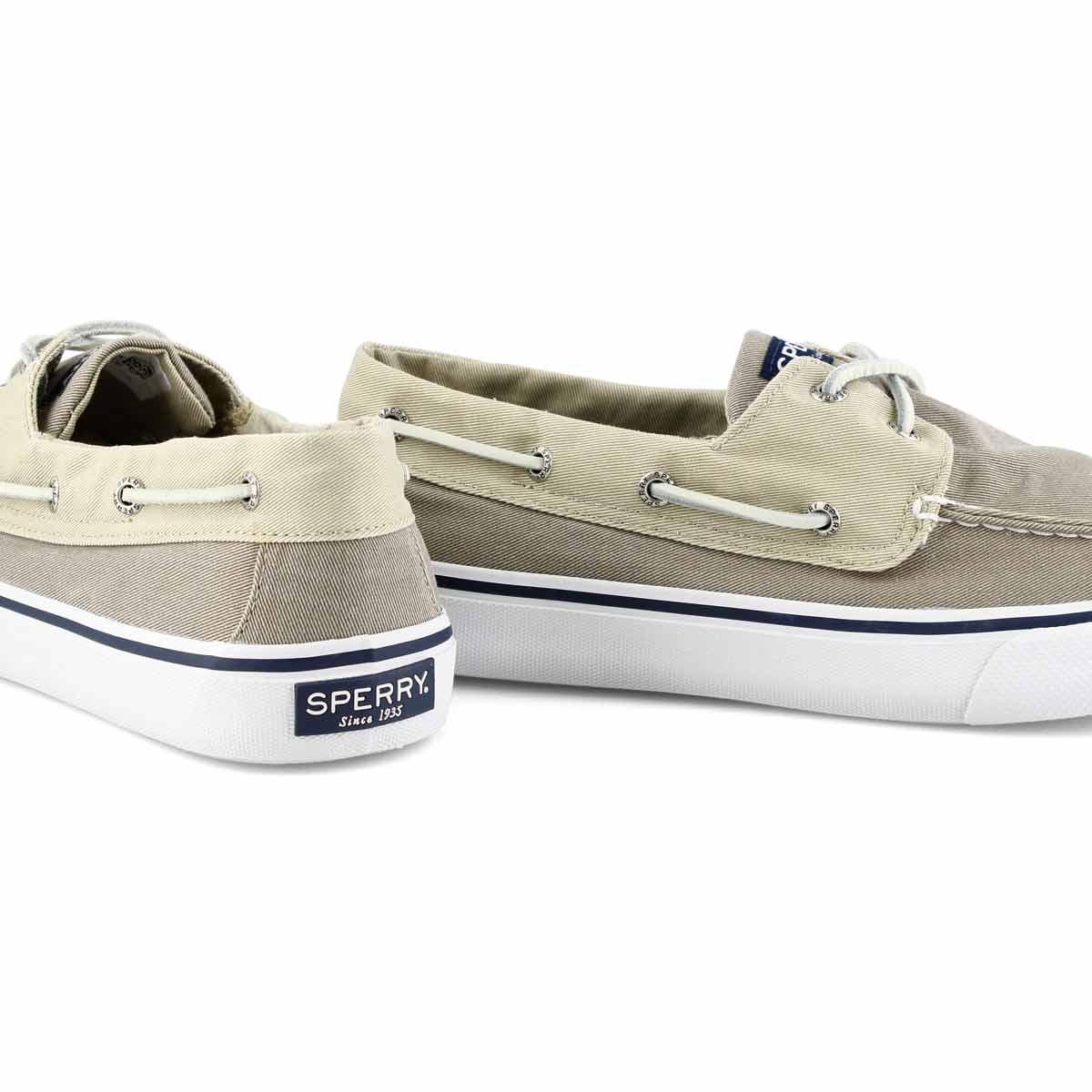 Chaussure bateau, BAHAMA II gris/khaki hommes