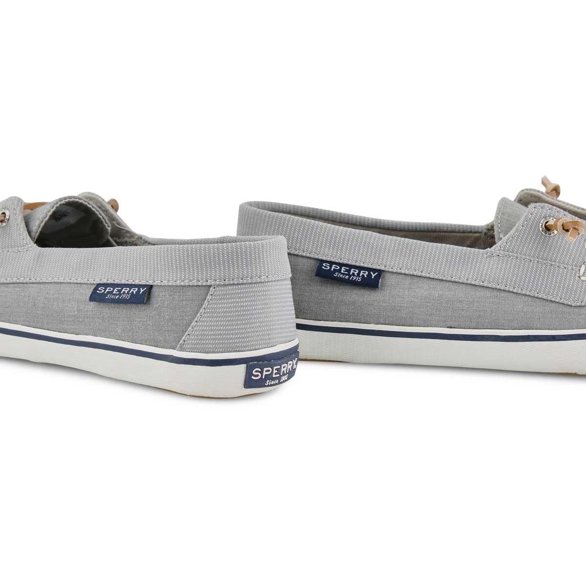 Women's Lounge Away Boat Shoe - Grey