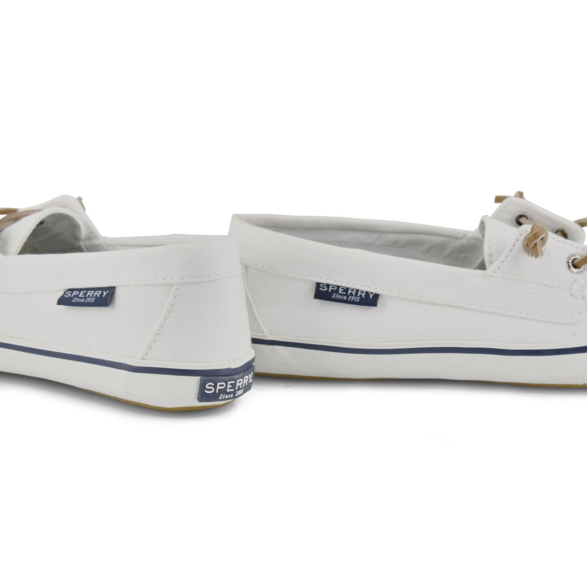 Women's Lounge Away Boat Shoe - White