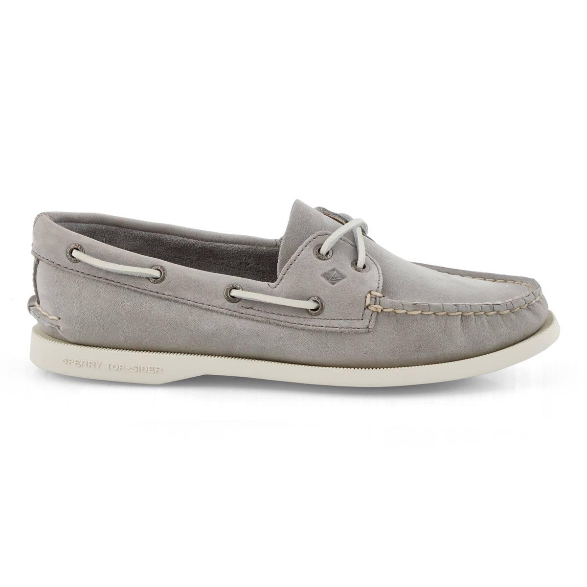 Women's Authentic Original Boat Shoe- Grey