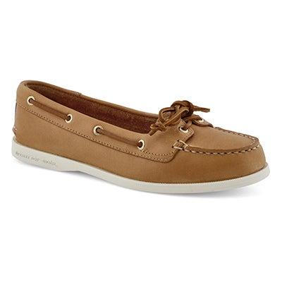 Chaussure bateau Audrey2 arachide, fem.