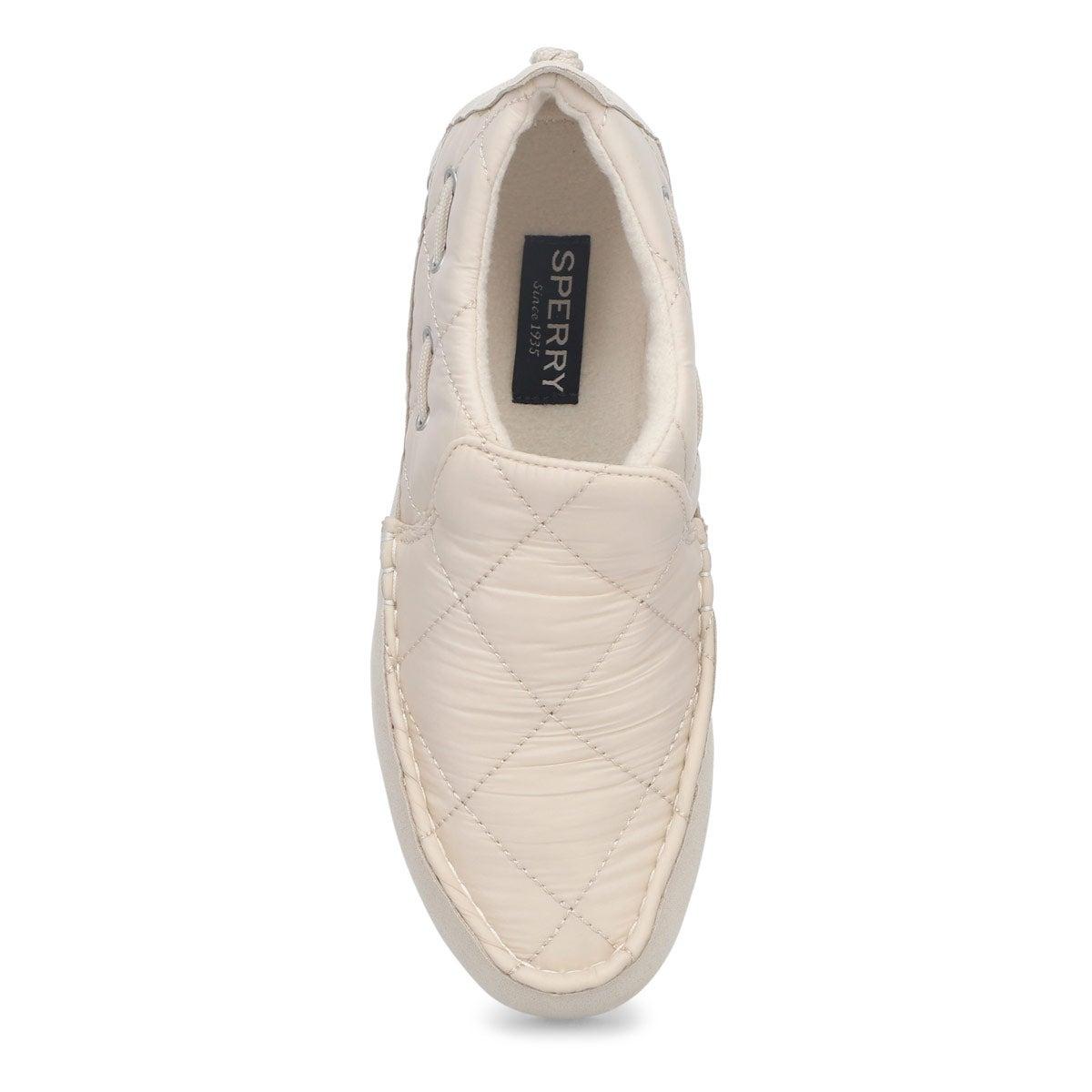 Women's Moc-Sider Slip On Shoe - White