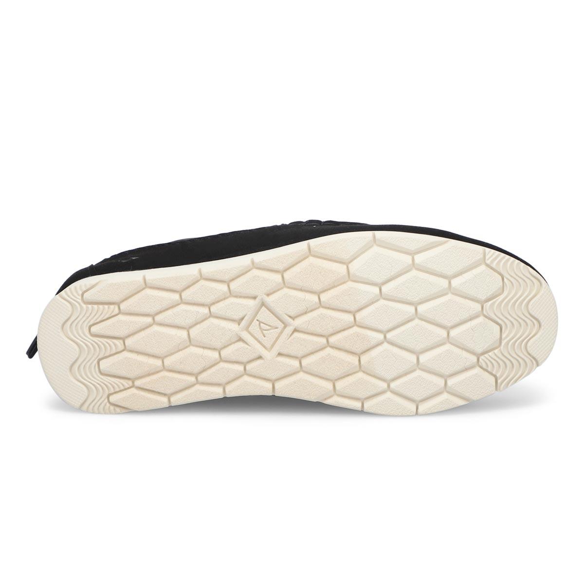 Women's Moc-Sider Slip On Shoe - Black