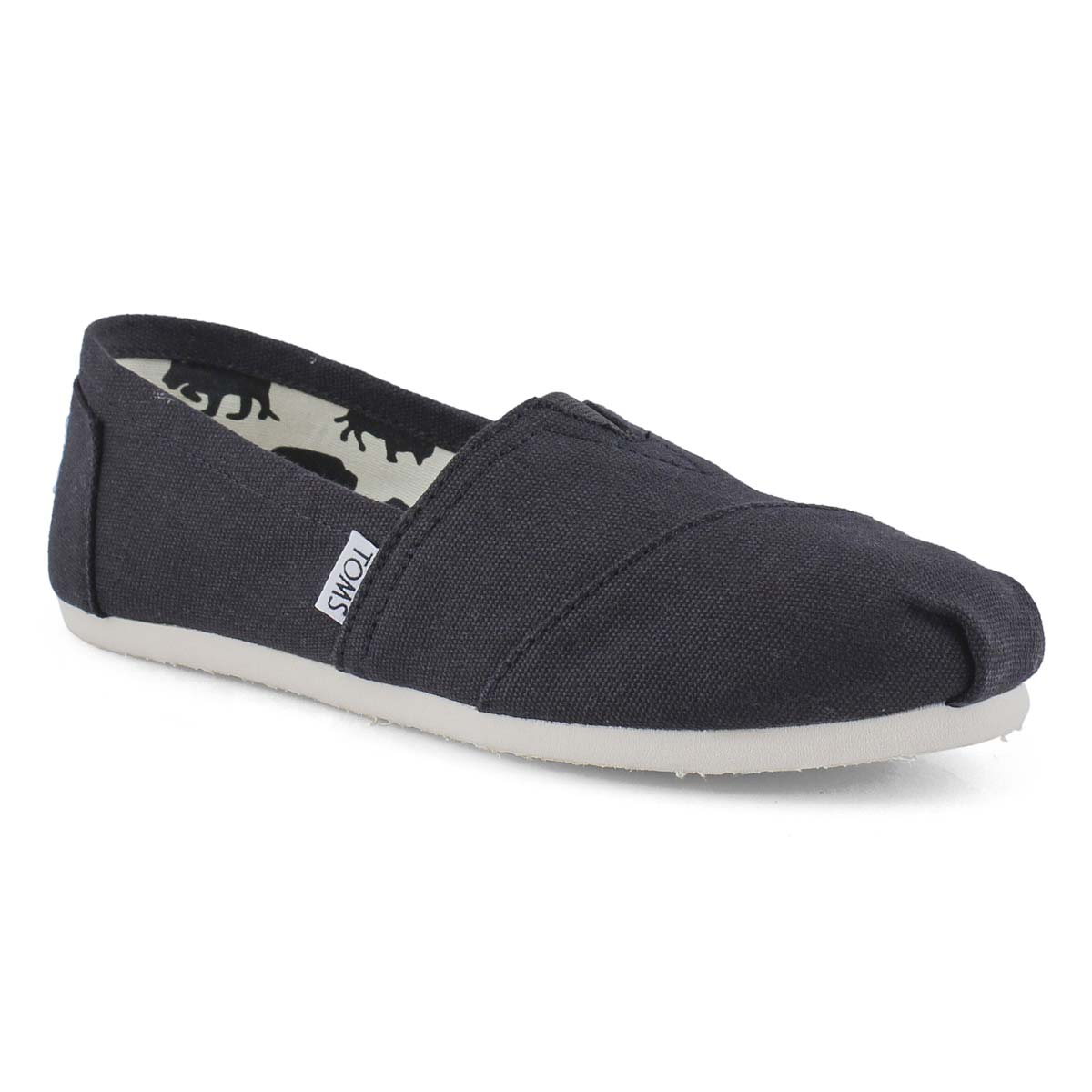 Women's Classic Canvas Loafer - Black