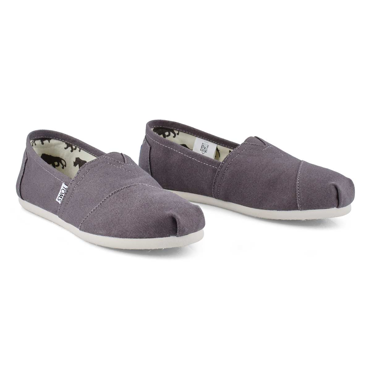 Women's Classic Canvas Loafer - Ash Grey