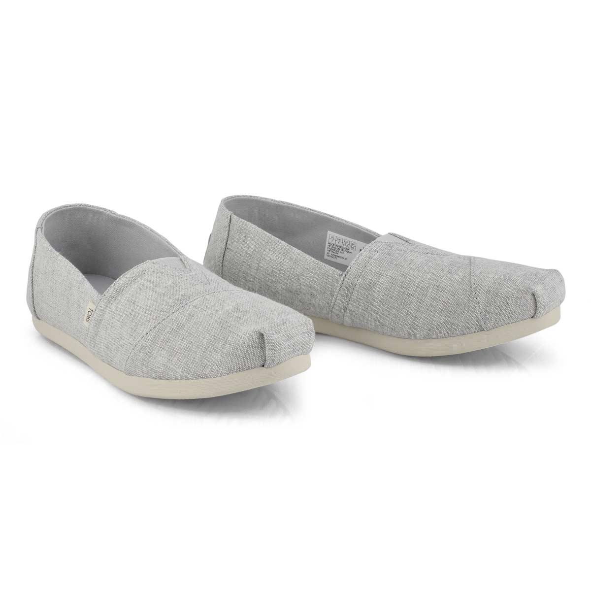 Sans-gênes CLASSIC ALPARGATA, gris bruine, femmes