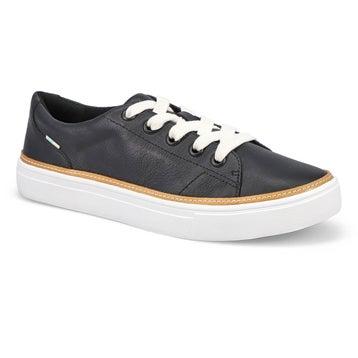 Women's Alex Sneaker - Black Leather