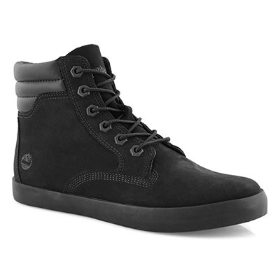 Women's DAUSETTE black lace up boots