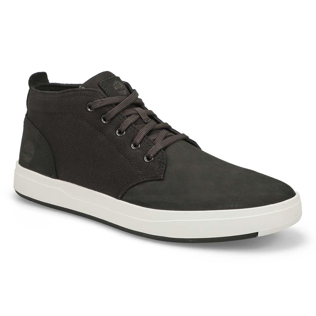 Men's Davis Square Chukka Boot - Black/White
