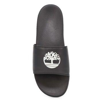 Men's Playa Sands Slide Sandal - Black/White