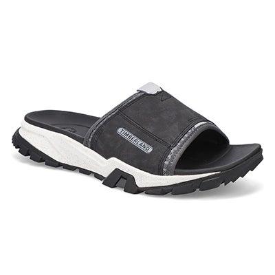 Mns Garrison Trail black slide sandal