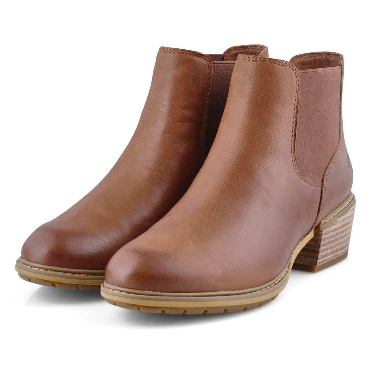 Women's Sutherlin Bay Chelsea Boot - Med Brown