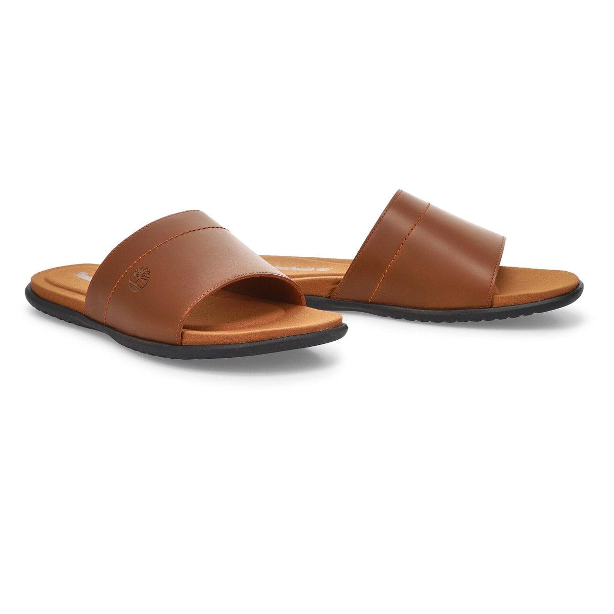 Men's Kesler Cove Slide Sandal - Med Brown