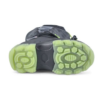 Boys' THUNDER lime waterproof lightup winter boots