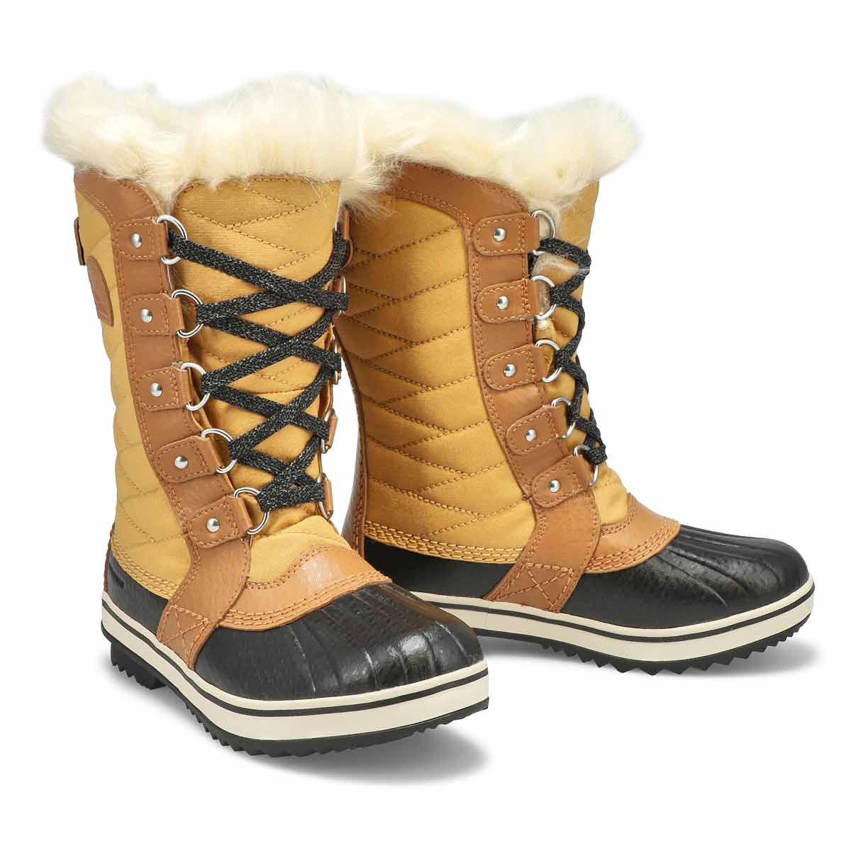 Girls' Tofino II Waterproof Snow Boot - Curry