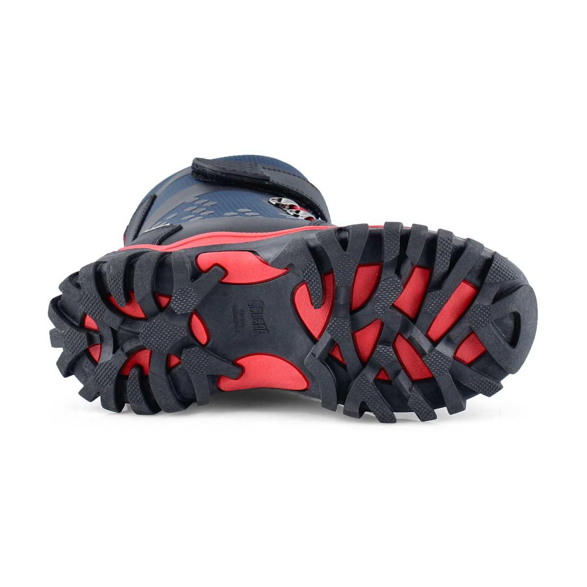 Boys' TURBO 2 navy waterproof winter boots