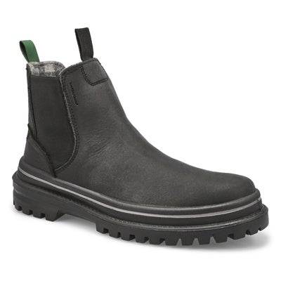Men's TYSON C black chelsea winter boots